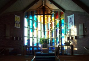 Peace Evangelical Lutheran Church | interior stained glass windows